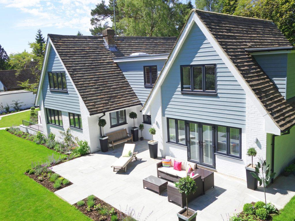 immopix24 Immobilien Luftbilder Wohnhaus